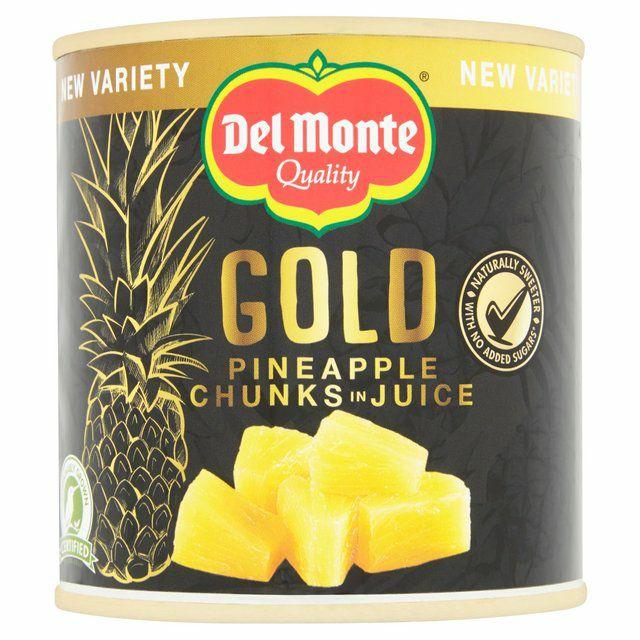 Del Monte Gold Pineapple Chunks / Slices In Juice 435G - 55p @ Tesco