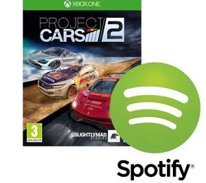 Spotify Premium for 6 Months free with the purchase of Project Cars 2 (New Spotify Customers) £4.99 @ Currys
