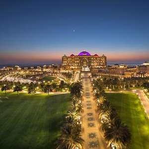 Emirates Palace Abu Dhabi Aug/Sep 20 HB £227 a night ( £113.50 pppn ) Travel Republic