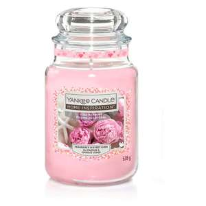 Home Inspirations Yankee Candle Excellence Large Jar (Coastal Peony/ Rose Lemonade/ Vanilla Frosting/ Watermelon Slice) £9 @ Tesco