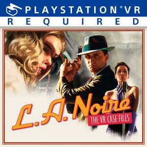 PSVR LA Noire: The VR Case Files - £12.99 for PS Plus subscribers / £18.74 for non-subscribers