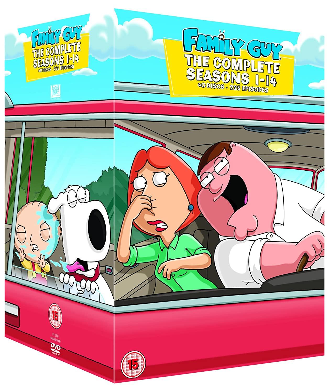 Family Guy - Season 1-14 [DVD] [40 Discs] £17.40 @ Amazon Prime / £20.39 Non Prime