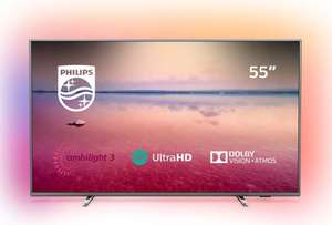 Philips 55PUS6754/12 55-Inch 4K UHD Smart TV Ambilight, HDR10+, Dolby Vision, Dolby Atmos (2019/2020 Model) - £399.99 delivered @ Amazon