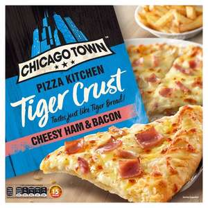 Chicago Town Tiger Crust Cheese Ham & Bacon / Chicago Town Tiger Crust Cheese Medley £1.50 @ Tesco