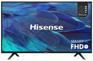 Hisense H40B5600UK 40-Inch Full HD 1080p smart TV with Freeview Play (2019) £216.70 Amazon