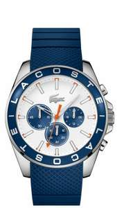 Lacoste Men's Blue Silicone Strap Watch + 2 Year Guarantee - £59.99 + Free Click & Collect @ Argos