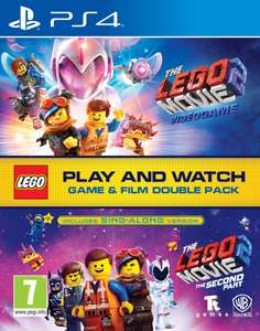 The LEGO Movie 2 Game & Film Double Pack [PS4] £10.99/[Xbox one] £12.99/ LEGO Ninjago Game & Film Double Pack [PS4] £14.99 Bossdeals @ eBay