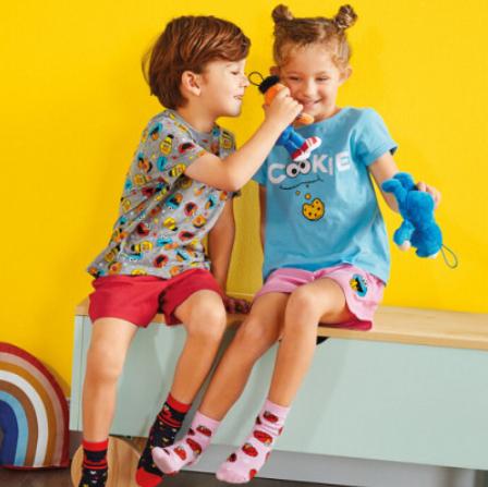 Sesame Street Kids Clothing range from £2.49 / Reversible Bedding Set £9.99 now instore @ Lidl