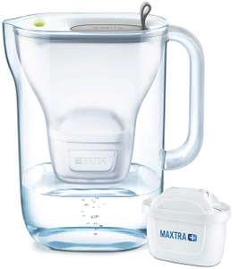 BRITA Style Water Filter, Compatible with BRITA MAXTRA+ Cartridges, Water Filter in Soft Grey £16.99 (Prime) / £21.48 (non Prime) at Amazon