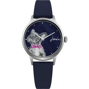 Joules Navy French Bulldog Watch £18.98 click & collect @ TK Maxx