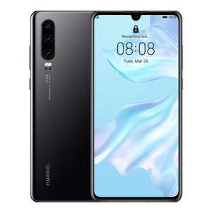 Huawei P30 with 100GB Data, Unlimited Minutes and texts for £22.00 per month (£19 upfront - 24month - £100 Huawei Cashback) @ Three