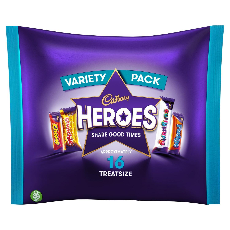 Cadbury's Hero's treat size £1.19 at FarmFoods Walsall/ Birmingham