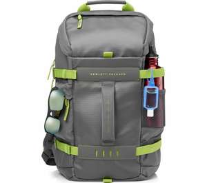"HP Odyssey 15.6"" Laptop Backpack - Grey & Green £19.99 at Currys PC World"