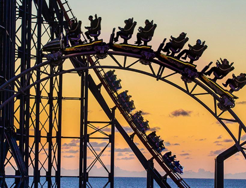 Blackpool Pleasure Beach - Half Price Wristband £19.50 at Bauer Media