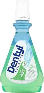 Dentyl Dual Action Smooth Mint/Fresh Clove Mouthwash 500ml £1.75 @ Amazon Prime / £6.24 Non Prime