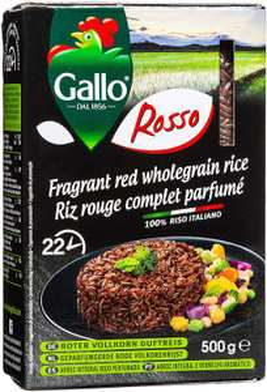 Gallo Rosso Fragrant Red Rice 12X500g - £3.45 (Prime) (£7.94 (Non Prime) @ Amazon