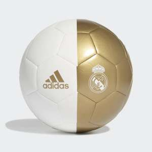 Real Madrid Capitano Footballl £8.62 with code + Free Click & Collect or £12.61 Delivered @ Adidas