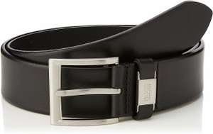 Boss Men's Connio Black Leather Belt from £30.39 @ Amazon