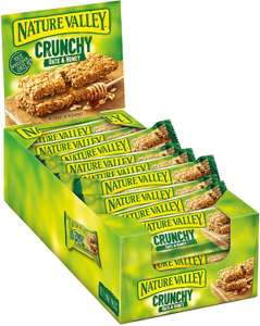 Nature Valley Crunchy Oats & Honey /Canadian Maple Syrup Cereal Bars 42g (Pack of 18) £3.60 (Prime) £8.09 (NP) @ Amazon