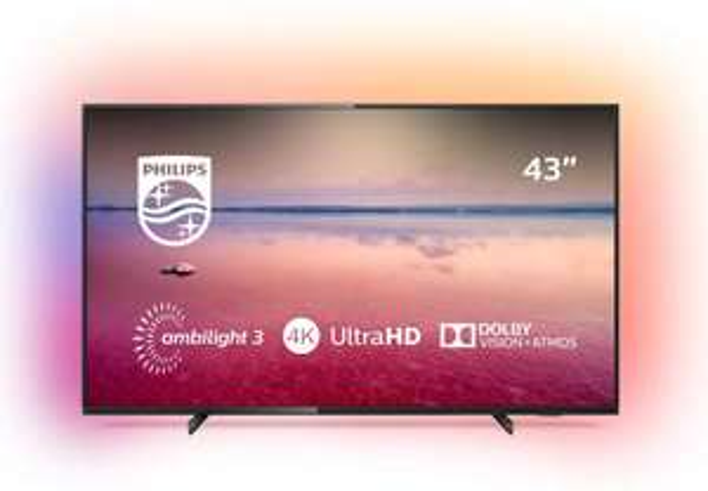 Philips TV Ambilight 43PUS6704/12 TV 43 inch LED Smart TV (2019/2020 model) £299.99 @ Amazon