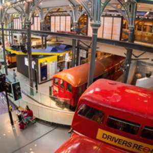 Free London Transport Museum Tickets to celebrate 40th birthday 27/03