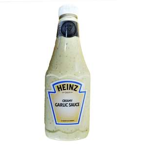 Heinz Creamy Garlic Sauce 880g / 'Full Fat' Mayonnaise (855g) - £1 @ Fulton Foods