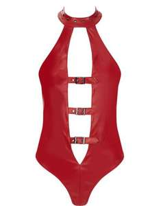 Adana Wet Look Body (Size XL Only) £8 + Free click and collect @ Ann Summers