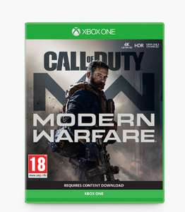 Call of Duty: Modern Warfare (2019), Xbox One £36.99 (Free click and collect) @ John Lewis & Partners