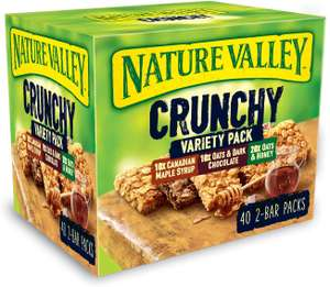 Nature Valley Crunchy Variety Pack of 40 for £5.98 @ Costco Instore