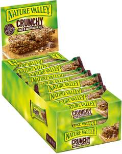 Nature Valley Crunchy Oats and Chocolate Cereal Bars 42g (Pack of 18) - Available 06/04 £3.60 + £4.49 delivery @ Amazon