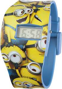 Minions Children's Digital Watch £1.57 with free Prime delivery at Amazon