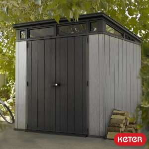 """Keter Artisan 7ft x 7ft 2"""" (2.1 x 2.2m) Shed £639.89 at Costco"""
