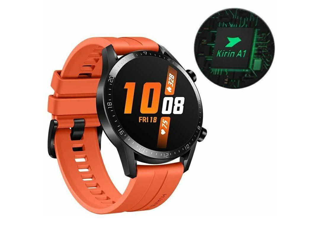 HUAWEI Watch GT 2 (46 mm) Smart Watch £150.06 / £100.06 With Huawei Cashback Orange @ Amazon