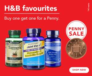 Holland & Barrett Buy 1 get one a Penny sale last day