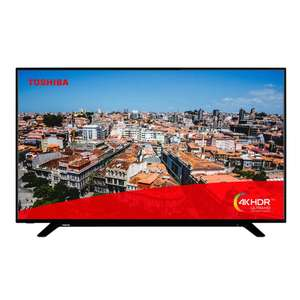 Toshiba 55U2963DBT 55 Inch Smart 4K Ultra HD LED TV Freeview Play USB Recording (Refurb) @ Electrical Deals