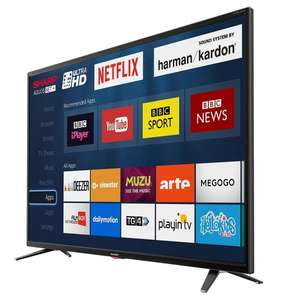 Sharp LC-49UI7352K 49 Inch SMART 4K Ultra HD HDR LED TV Freeview HD USB Record (Refurb) £239.99 electrical-deals.co.uk