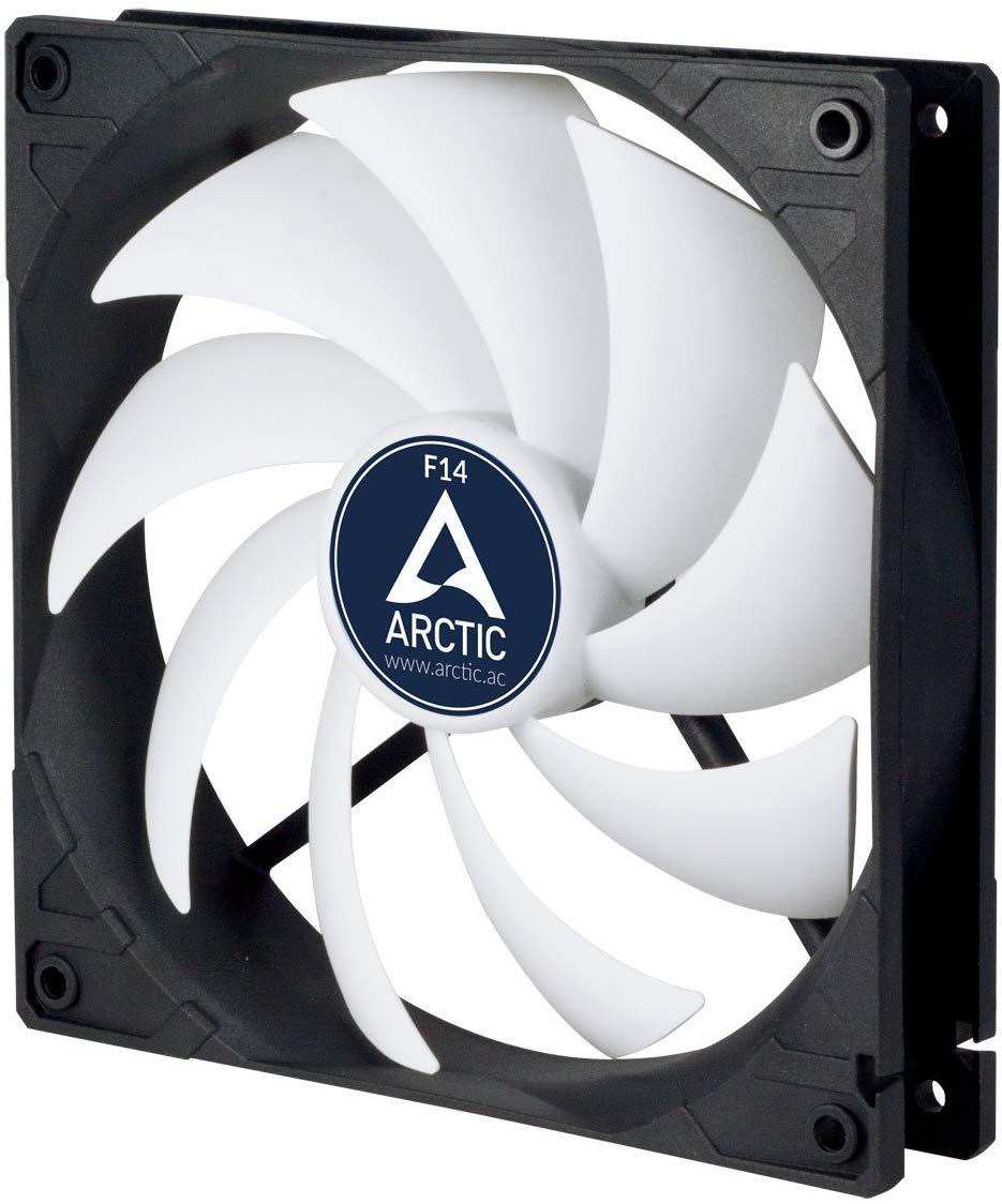 ARCTIC F14 - 140 mm Standard Case Fan, Ultra Low Noise Cooler, Silent Cooler with Standard Case £4.99 Prime / £9.48 Non Prime