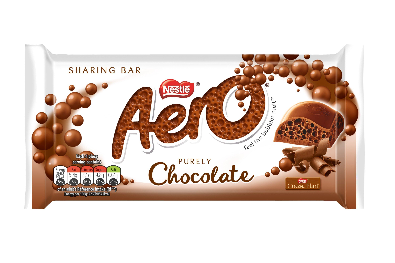 Aero Sharing Chocolate Bar 100g 49p @ Farmfoods Gorseinon