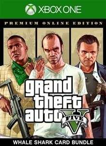[Xbox One] Grand Theft Auto V (GTA) : Premium Online Edition & Whale Shark Card Bundle - £12.49 with Gold @ Microsoft Store
