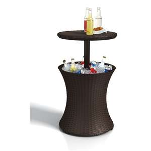 Keter Pacific Rattan Effect Garden Cool Bar - Brown / 30L - £29.95 + Free Click & Collect @ Homebase