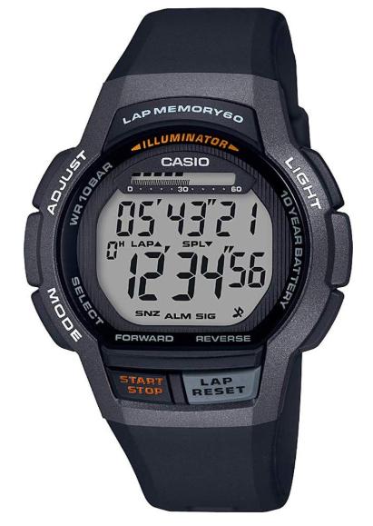 Casio LCD Digital Watch SPORT Chrono etc. WS-1000H-1AVEF + 2 Year Warranty - £16.19 delivered with code @ 7dayshop