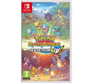 Pokémon Mystery Dungeon: Rescue Team DX (NINTENDO SWITCH) £37.99 @ Currys