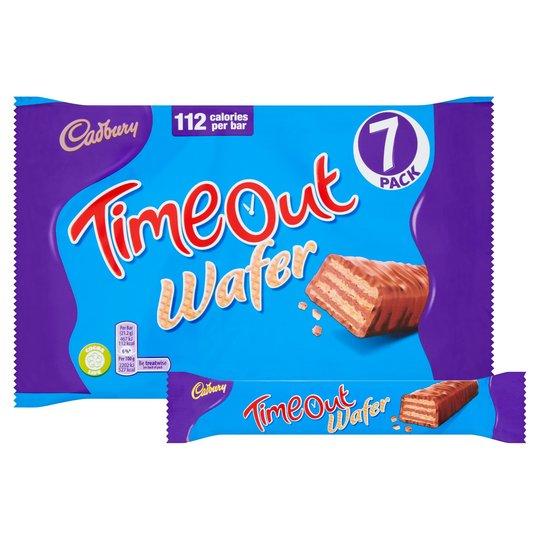 Cadbury Timeout Wafer 7 Pack £1 @ Tesco