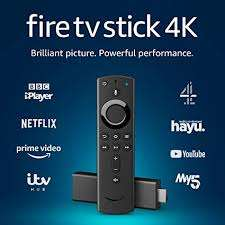 AMAZON Fire Tv Stick 4K with Alexa Voice Remote for £34.99//Fire TV Stick with Alexa Voice Remote (2019) - for £29.95 Delivered @ Currys