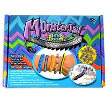 Rainbow Loom Bands Monster Tail Kit £3.25 Superdrug