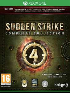 Sudden Strike 4 Complete Collection Xbox One £16.95 delivered at evergameuk eBay