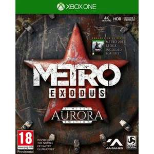 Metro Exodus: Aurora Limited Edition(Xbox One)-£14.95 @ The Game Collection