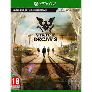 [Xbox One] State of Decay 2/Middle Earth Shadow of War Silver Edition for £6.95 each @ The Game Collection