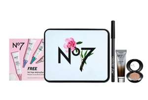 No 7 Gift Set Free when you buy 2 selected No7 Cosmetics @ Boots Shop