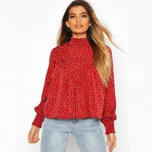 Over 300 tops £5 or less plus £1.99 next day delivery (usually £5.99) @ boohoo